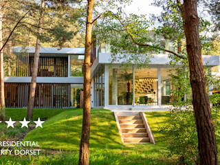 Ortega, Luscombe, Luscombe Valley, Poole, Dorset David James Architects & Partners Ltd Modern houses