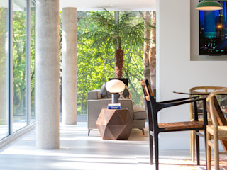 Ortega, Luscombe, Luscombe Valley, Poole, Dorset David James Architects & Partners Ltd Modern living room