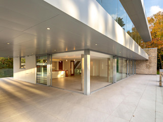 Oseleta, Luscombe, Luscombe Valley, Poole, Dorset David James Architects & Partners Ltd Modern houses