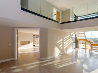 The Dell, Ringwood, Hampshire David James Architects & Partners Ltd Modern living room