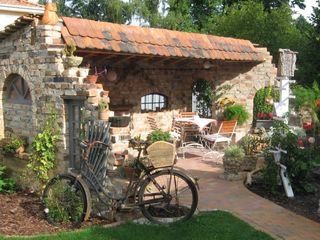 Gartenprojekte Antik-Stein Gartenhaus