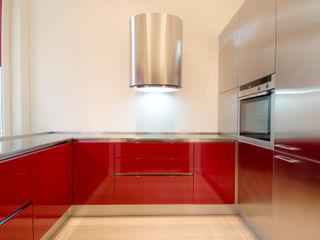 Cucine su misura MiniCucine.com Cucina attrezzata Legno Rosso
