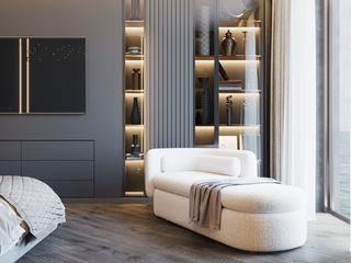 Студия дизайна ROMANIUK DESIGN Klassieke slaapkamers