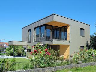 schroetter-lenzi Architekten Small houses Aluminium/Zinc Metallic/Silver