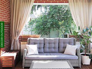 Текстиль для веранды DECOR OUTDOOR Балкон, веранда и террасаАксессуары и декор Текстиль Белый