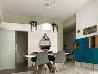 arch. Paolo Pambianchi Salas de estar minimalistas Verde