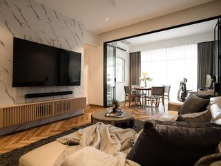 Woodgrove Mr Shopper Studio Pte Ltd Modern living room