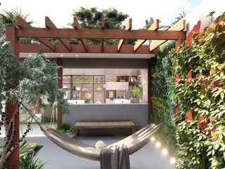 SCK Arquitetos Estudios y despachos de estilo rústico