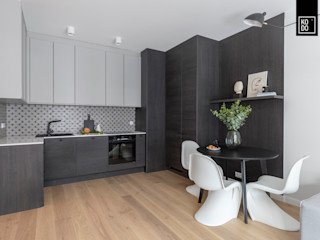 KODO projekty i realizacje wnętrz Cocinas de estilo minimalista