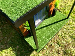 Caratteristiche cucce da esterno Pet House Design Pet House Design® Casetta da giardino Ferro / Acciaio Nero