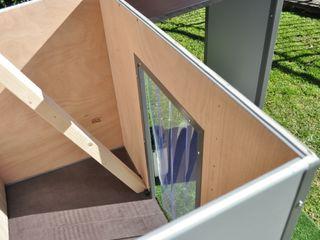 Caratteristiche cucce da esterno Pet House Design Pet House Design® Giardino roccioso Legno Marrone