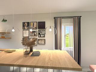 JR Interior Design Comedores modernos