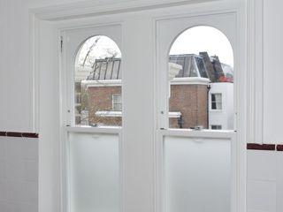 Sash windows portfolio Repair A Sash Ltd 木製サッシ エンジニアリングウッド 白色