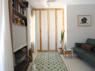 Vivienda en Donostia - San Sebastián Bitarte arquitectura & interiorismo Salones de estilo moderno Cerámico Multicolor