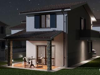 Rendering Esterni Bomarzo Agenzia Rendering 3D - W & E srl Villa