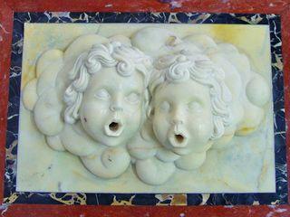 Villa Privata in Germania Arte 2000 Soggiorno classico Marmo Bianco