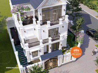 Trọn bộ phương án thiết kế biệt thự tân cổ điển 3 tầng kiểu Pháp 13x11m tại Bình Thuận NEOHouse