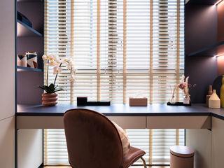 Park Place Residences Mr Shopper Studio Pte Ltd Eclectic style study/office
