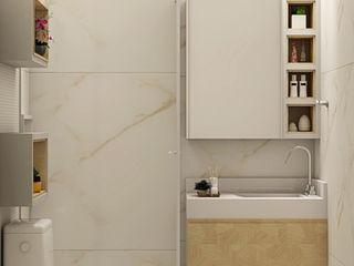 SCK Arquitetos Baños de estilo moderno