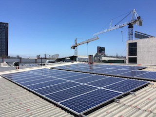 XUSOL Energía Solar Kantor & Toko Modern