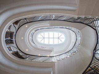 Villa nella Campagna Inglese Arte 2000 Scale Marmo Bianco
