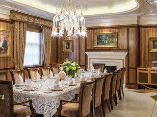 Villa nella Campagna Inglese Arte 2000 Sala da pranzo in stile classico Marmo Beige