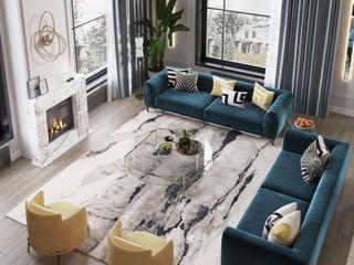 Rubleva Design Вітальня