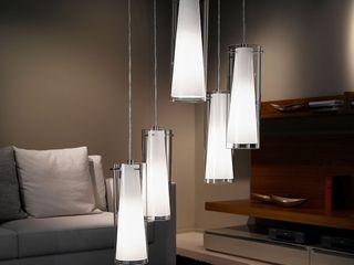 Skapetze Lichtmacher Modern living room White