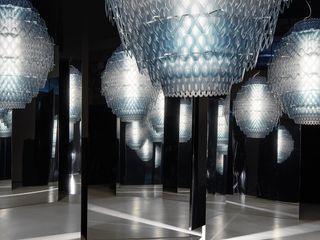 Skapetze Lichtmacher Modern dressing room Blue