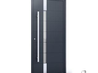 RK Exclusive Doors Парадні двері Алюміній / цинк Сірий