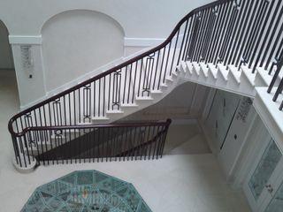 Residenza Privata Arte 2000 Scale Marmo Bianco