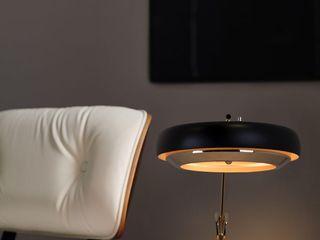 Mid-Century Home Inspirations DelightFULL Oficinas de estilo moderno