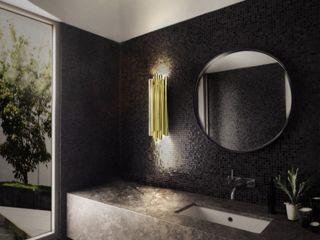 Mid-Century Home Inspirations DelightFULL Baños de estilo moderno