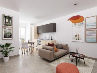 InstantRender Scandinavian style living room
