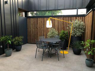 Hugues Tournier Architecte Modern Terrace