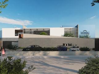 FLORES ROJAS Arquitectura Casas de estilo industrial