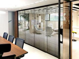 辦公空間的完美提案|百葉簾.蜂巢簾.捲簾.斑馬簾 MSBT 幔室布緹 書房/辦公室 Black