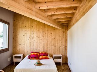 Villa Venetique, 250 mq – Santa Giustina in Colle (PD) Biocasanatura - case in legno Camera da letto moderna Legno