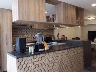 FLORES ROJAS Arquitectura CocinaAlmacenamiento y despensa