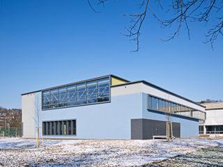 Universitätsturnhalle für Kunstturnen Dannien Roller Architekten + Partner PartG mbB Industriale Stadien