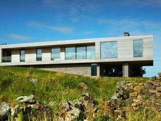Upper Parkbrae House Brown & Brown Architects Casas modernas