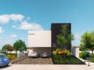 FLORES ROJAS Arquitectura Casas de estilo minimalista