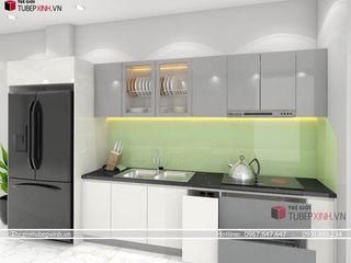 Thế giới tủ bếp xinh KitchenCabinets & shelves MDF White