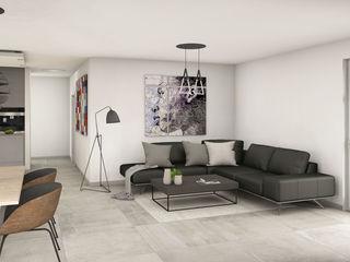 Heinz von Heiden Bungalow Cumulus 772 Dieckmann Immobilien Moderne Wohnzimmer