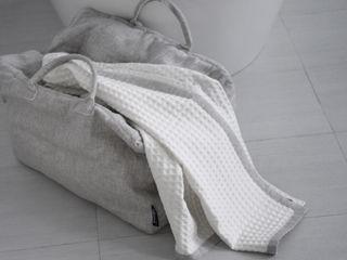 POEMO DESIGN BañosTextiles y accesorios Algodón Beige