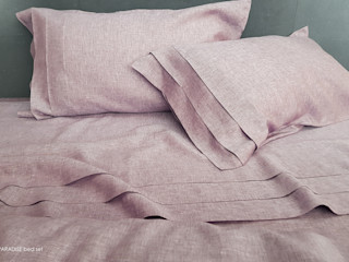 POEMO DESIGN DormitoriosTextiles Lino Rosa