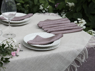 POEMO DESIGN Sala de jantarAcessórios e decoração Linho Rosa