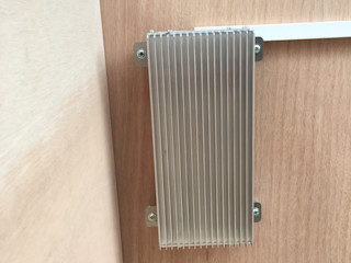 Cucce di design da esterno riscaldate e raffreddate Pet House Design® Giardino d'inverno moderno Alluminio / Zinco Grigio