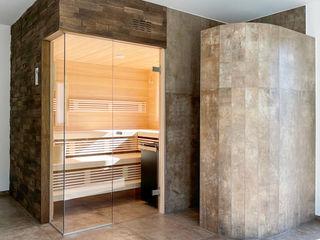 Sauna LAUREUS mit Ausblick   KOERNER Saunamanufaktur KOERNER SAUNABAU GMBH Sauna