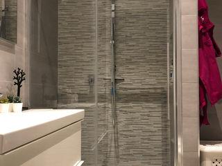 gk architetti (Carlo Andrea Gorelli+Keiko Kondo) Minimalistische Badezimmer